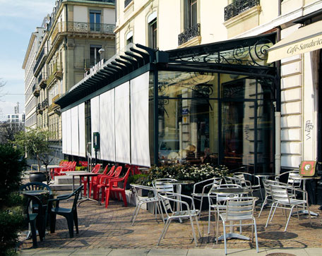 Restaurant le dorian gen ve r alisations vhp metal for Apprentissage cuisine geneve